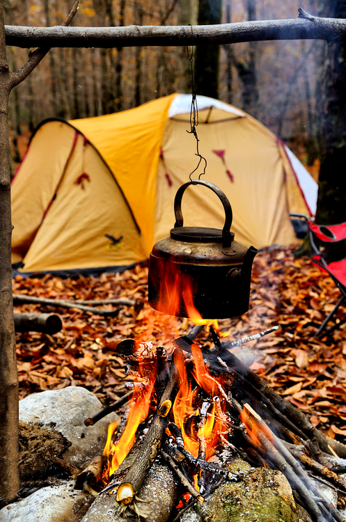 4 Tips for Camping When It's Cold